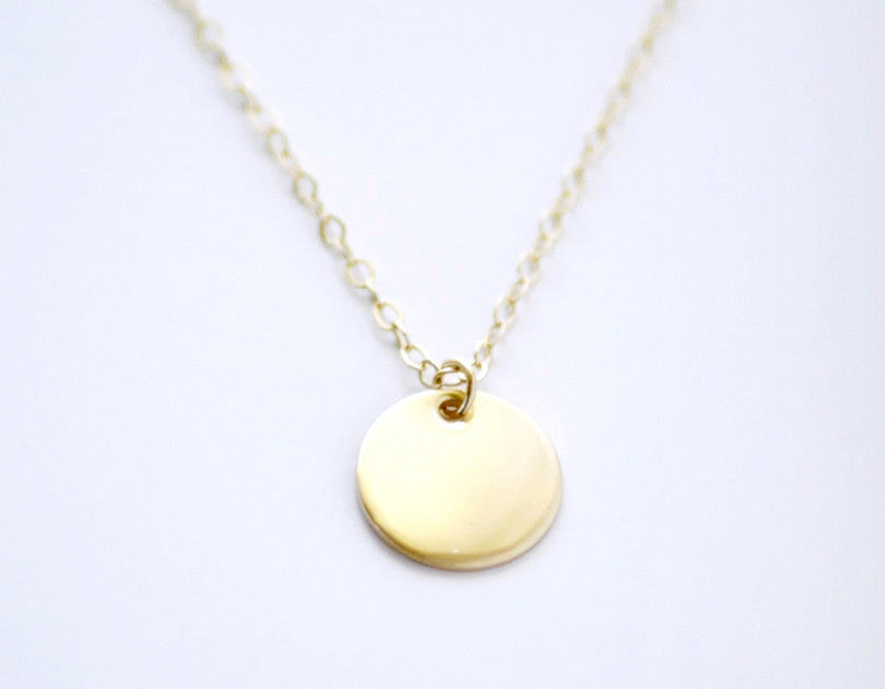 14k gold jewelry gold necklace small gold charm necklace