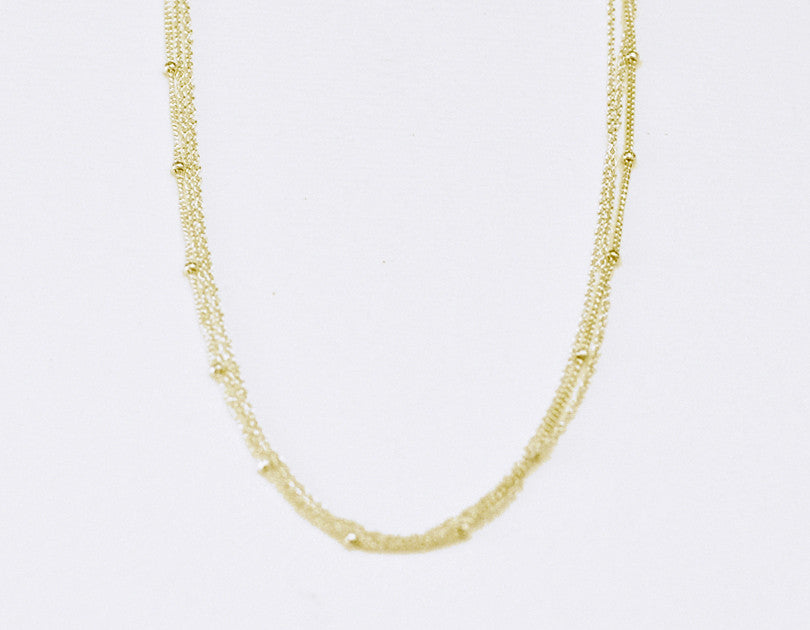 gold double necklace shop ie the delicate all jewellery trend necklet fields white rose circle yellow