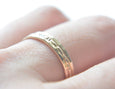 gift for her, 14k gold rings, thin rings, stacking ring set, karat1424