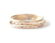 faceted rings, everyday rings, dainty rings, karat1424