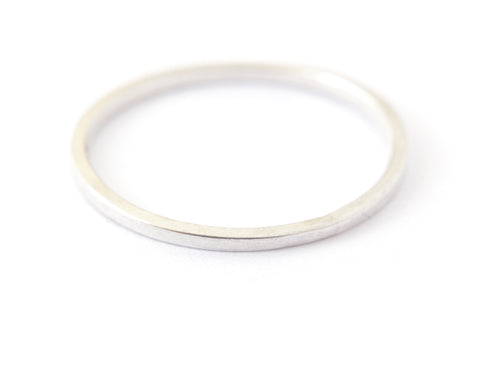 Nera Ring 1mm - silver