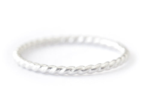 Aerin Ring 1.3mm - silver