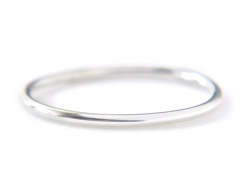 Ina Ring 1.3mm - silver