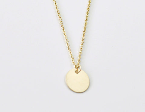 Cirque necklace - gold