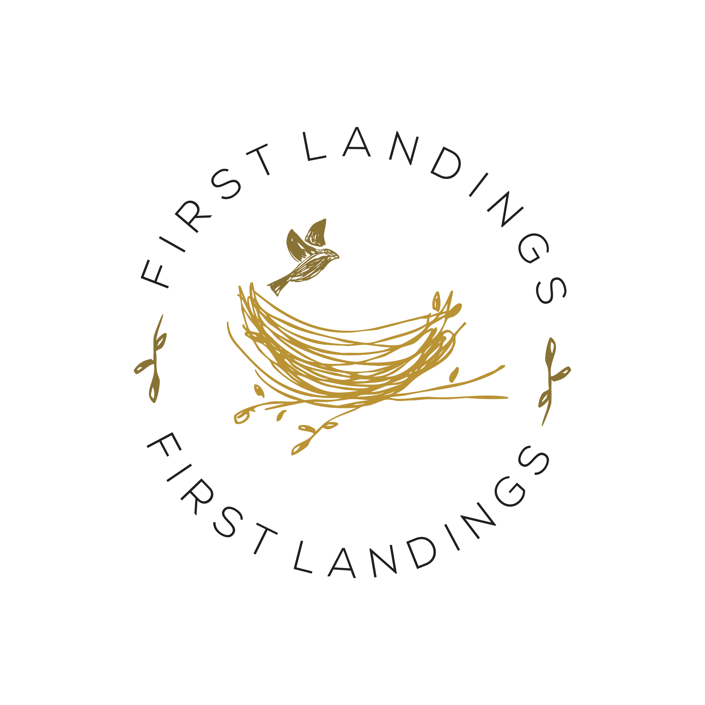 First Landings Logo