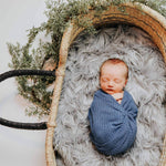 Newborn Photography Wraps - Blue