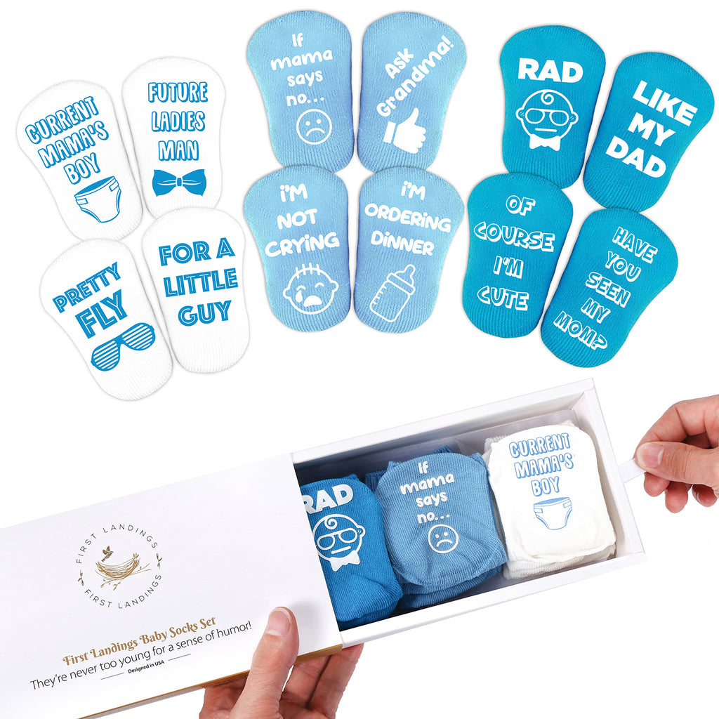 Baby Socks Gift Set for Boys