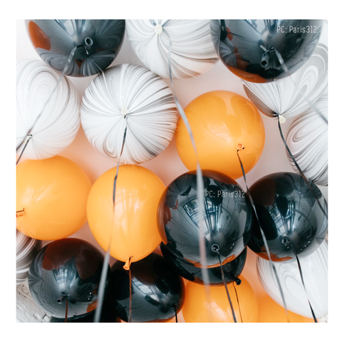 HALLOWEEN 10PC BALLOON CEILINGS