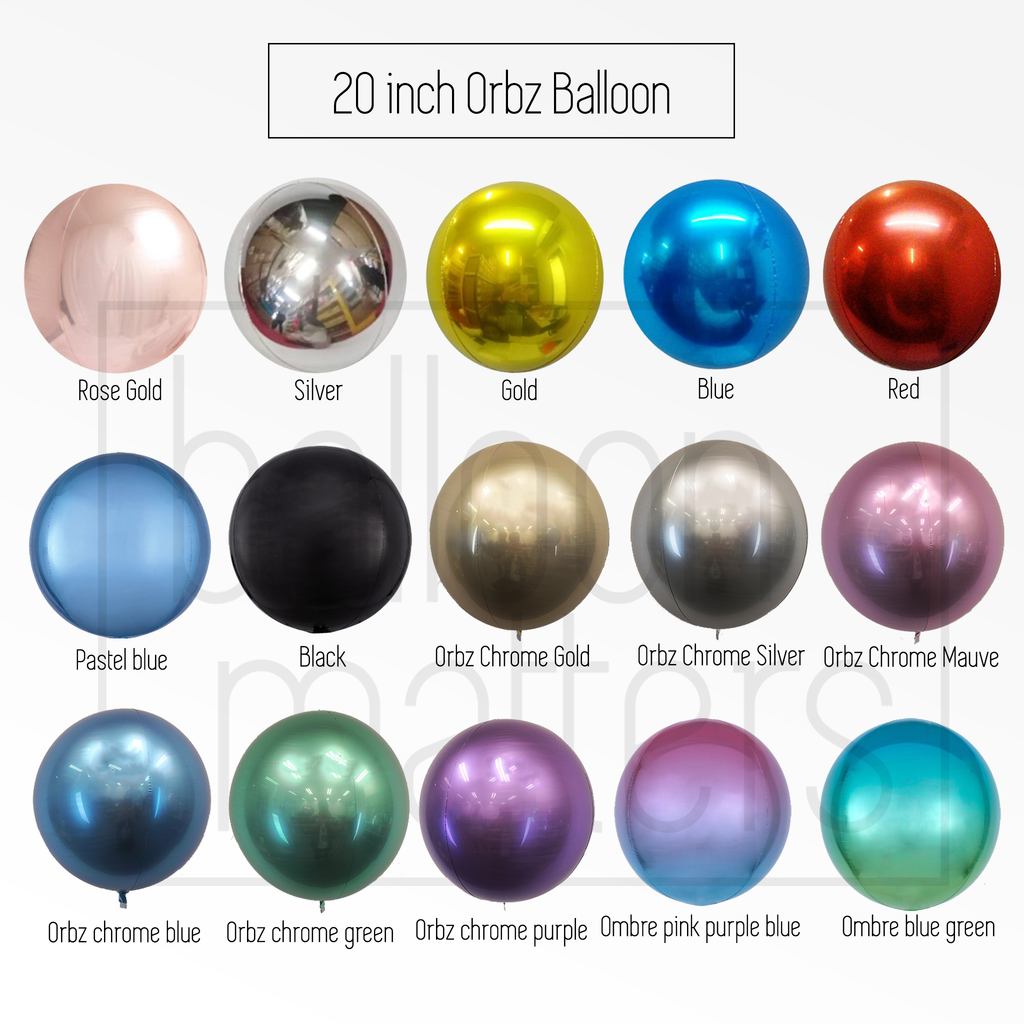 Create Your Own Orbz Balloon
