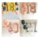 40 inch Giant Number Foil Balloon