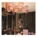 Marry Me Proposal Balloon Setup