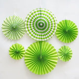 Paper Fan 6pc Set
