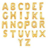 40 inch Giant Gold Letter Foil Balloon