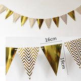Foil Number Birthday Decoration DIY Pack - Gold