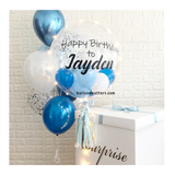 Customized Surprise Box Blue
