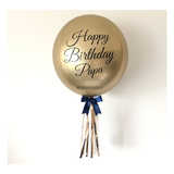 Chrome Gold Orbz Balloon