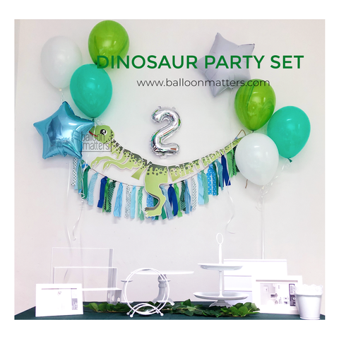Dinosaur DIY Party Set 2 - No helium required