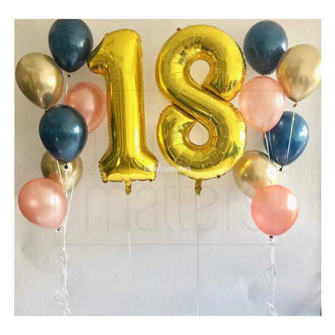 Giant Number Balloons Set 2