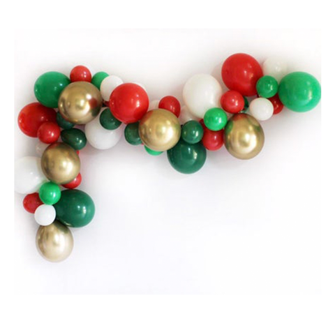 Christmas Balloon Garland