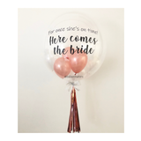 Here comes the bride Bubble Balloon