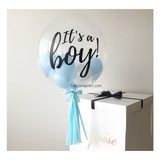 Gender Reveal Balloon Surprise Box Balloon Delivery Singapore