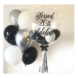 Monochrome Bubble Balloon