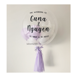 Pastel Purple Bubble Balloon