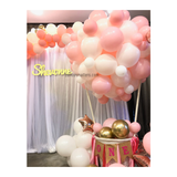 Hot Air Balloon Setup - Pink
