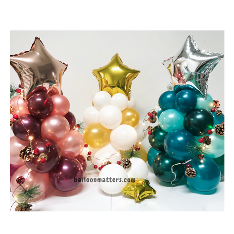 Christmas Balloon Tree - 50cm
