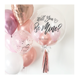 Will You Be Mine Bubble Balloon
