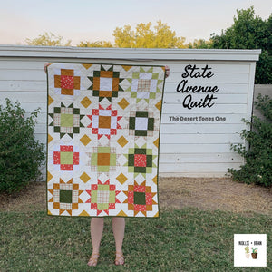 State Avenue Quilt - The Desert Tones One