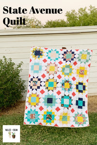 State Avenue Quilt - The Garden Party one