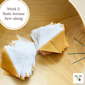 State Avenue Sew-along:  Week 2