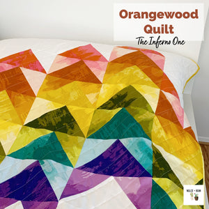 Orangewood Quilt:  The Inferno One