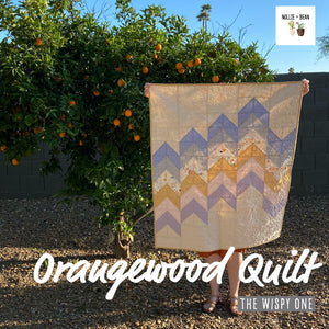 Orangewood Quilt - The Wispy One