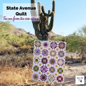 State Avenue Quilt:  The One from the Sew-along!