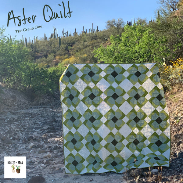 Aster Quilt - The Green One