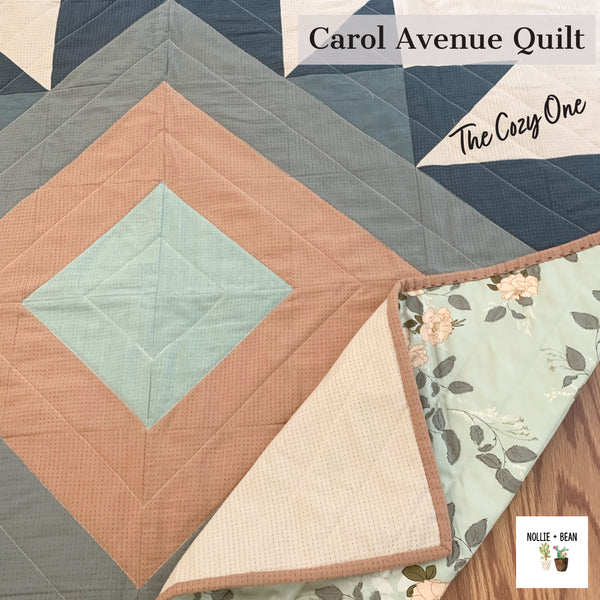 Carol Avenue Quilt:  The Cozy One