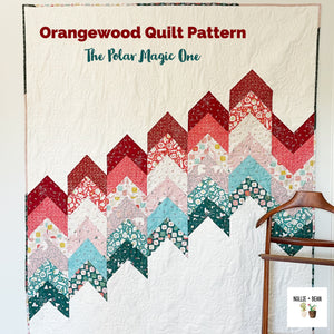 Orangewood Quilt:  The Polar Magic One
