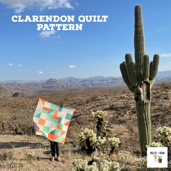 Clarendon Quilt:  The Squeezed One