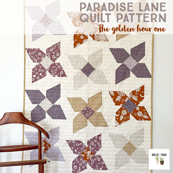 Paradise Lane Quilt:  The Golden Hour One