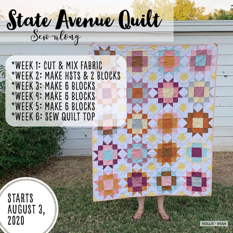State Avenue Sew-along hosted by Nollie + Bean