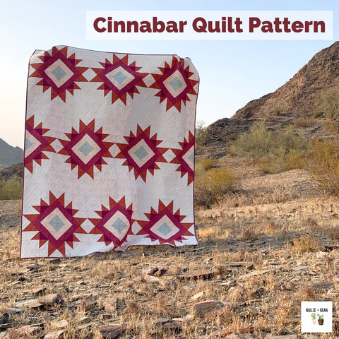 Cinnabar Quilt Pattern by Nollie + Bean