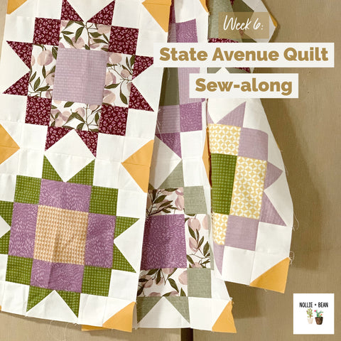 State Avenue Quilt Sew-along hosted by Nollie + Bean