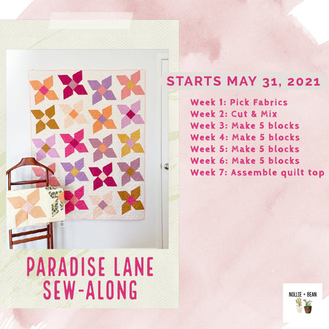 Paradise Lane SAL hosted by Nollie + Bean