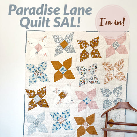 Paradise Lane Quit Sew-along hosted by Nollie + Bean