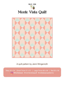 Monte Vista Quilt Pattern (Download)