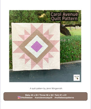 Carol Avenue Quilt Pattern by Nollie + Bean