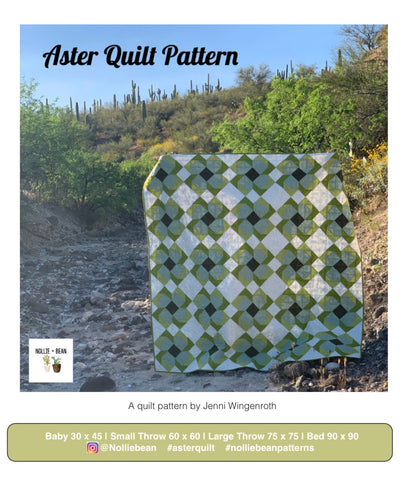 Aster Quilt Patter