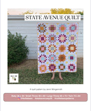 State Avenue Quilt Pattern by Nollie + Bean